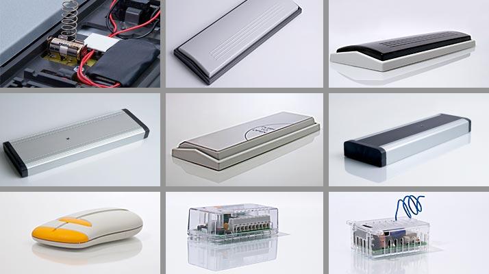 Bild på ett urval av våra produkter.
