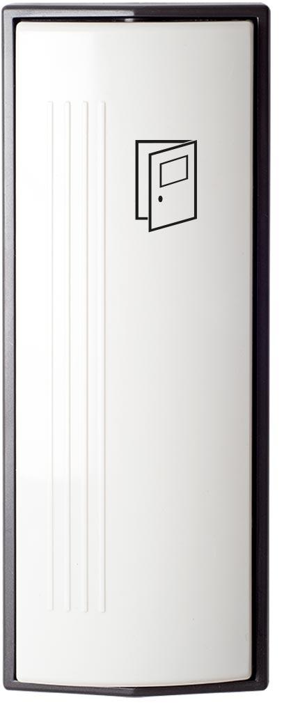 Armbågskontakt JCK203 med symbol öppna dörr
