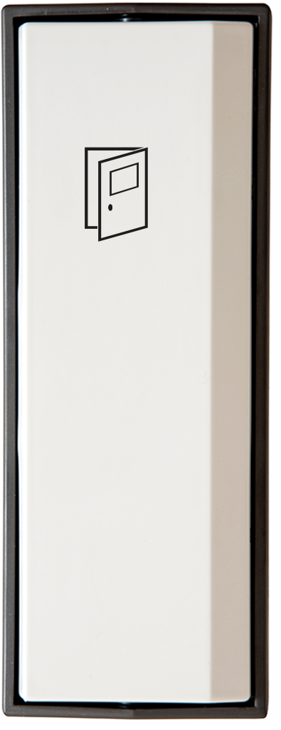 Armbågskontakt JCK103 med symbol öppna dörr