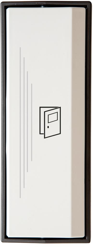 Armbågskontakt JCK103 med taktila ränder och symbol öppna dörr