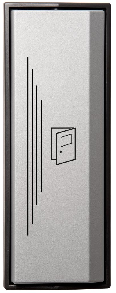 Armbågskontakt JCK105 med taktila ränder och symbol öppna dörr