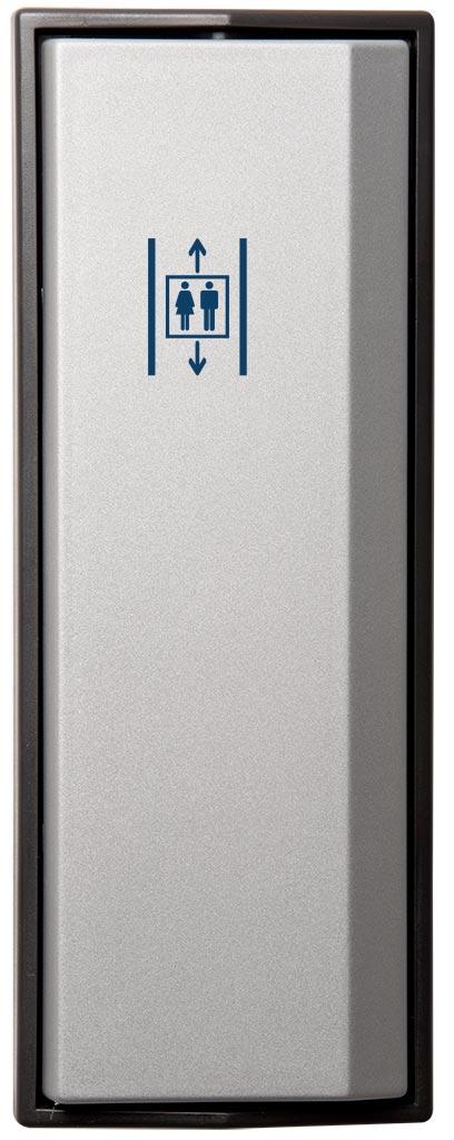 Armbågskontakt JCK105 med symbol hiss