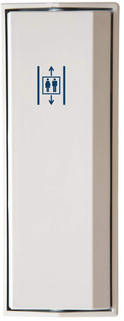 Armbågskontakt JCK109 med symbol hiss