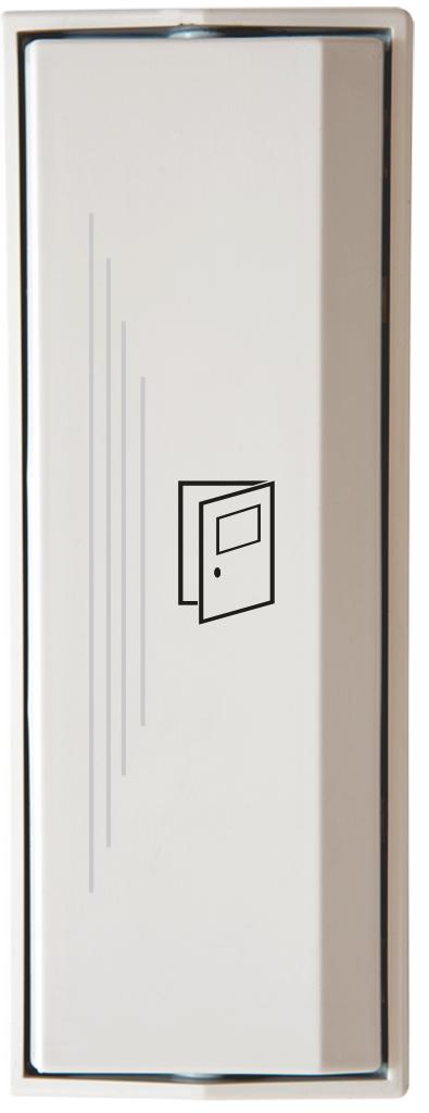 Armbågskontakt JCK109 med taktila ränder och symbol öppna dörr