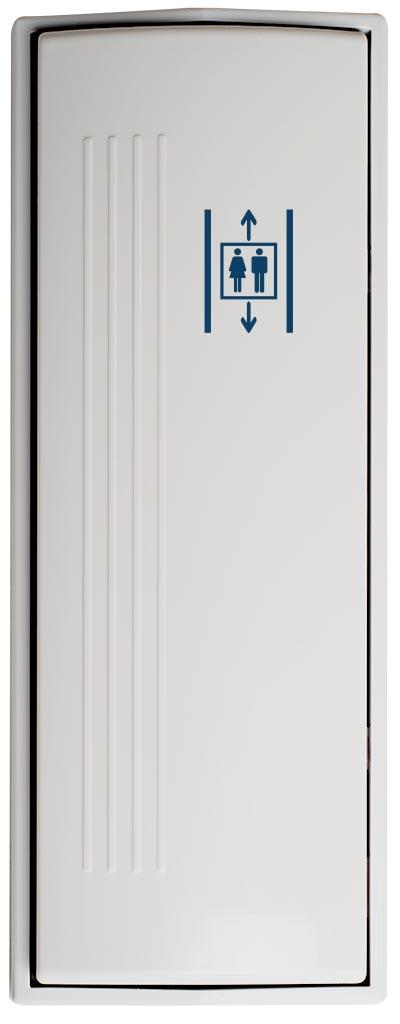 Armbågskontakt JCK211 med symbol hiss